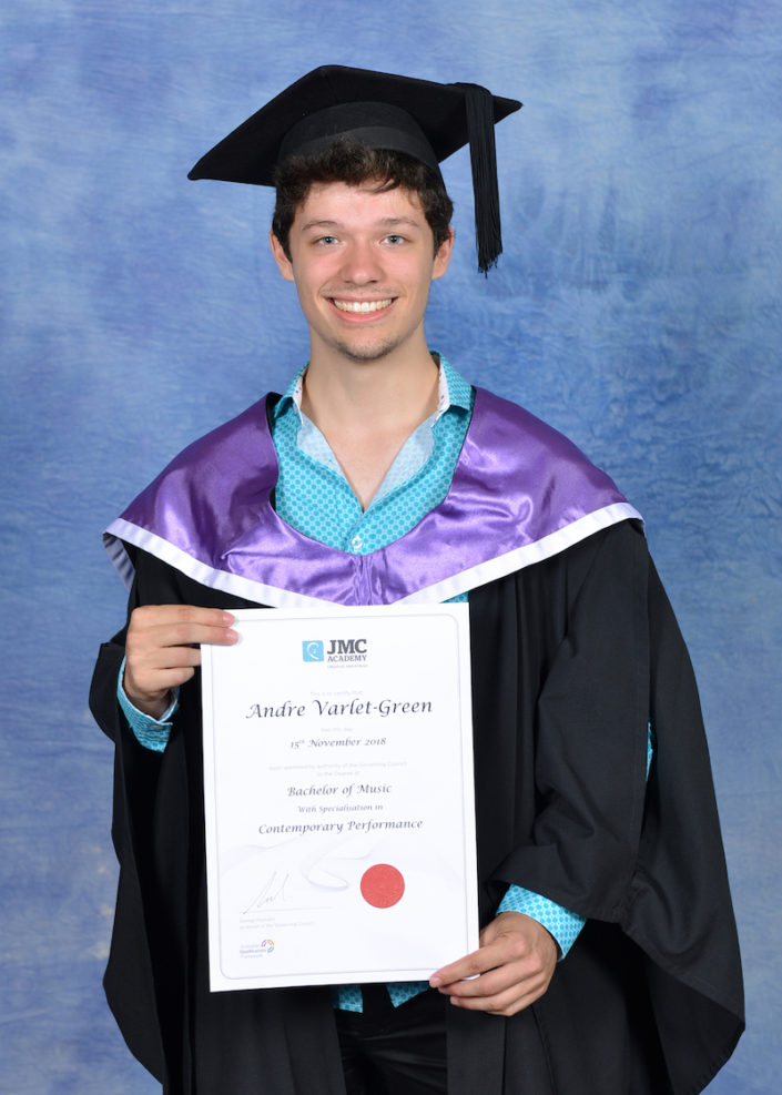Individual Student Graduation Photo