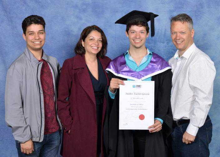 Graduation Family Photo
