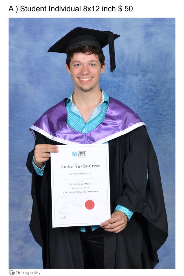 University and College Graduation Portrait Photography.